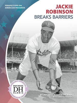 cover image of Jackie Robinson Breaks Barriers